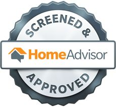 We met the @HomeAdvisor crew at the show! HomeAdvisor's Seal of Approval for all Screened & Approved Service Professionals.