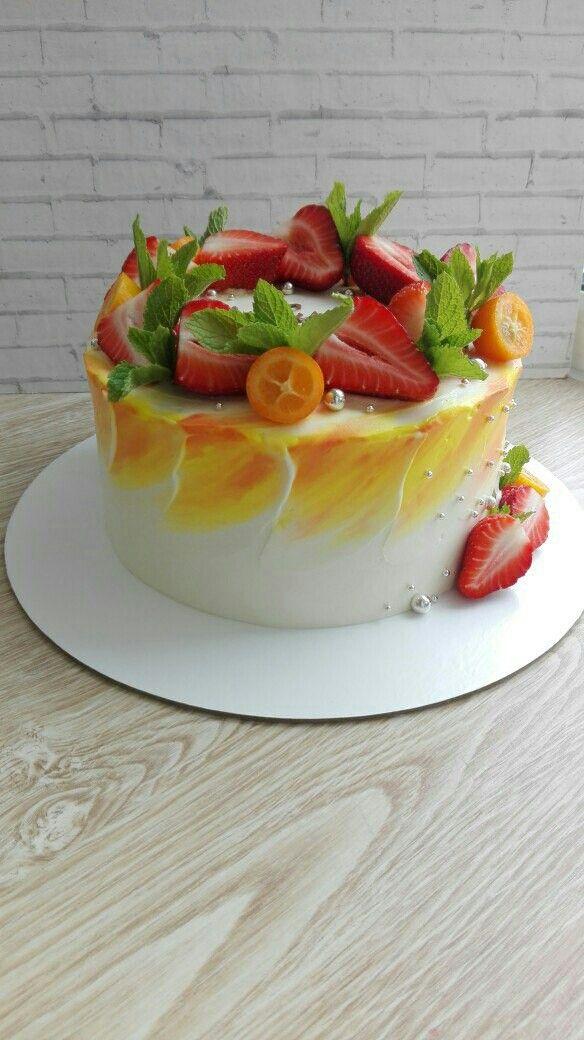 Торты с фруктовыми начинками