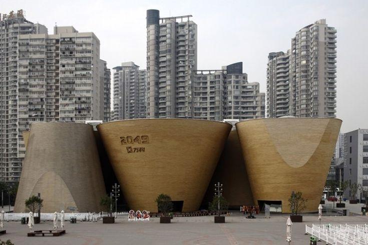 Vanke Pavilion, Shanghai World Expo 2010. Image Courtesy of Dou Xiang Studio
