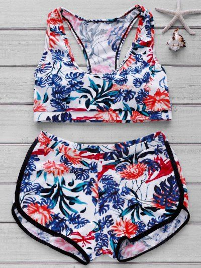 GET $50 NOW | Join Zaful: Get YOUR $50 NOW!http://m.zaful.com/scoop-neck-leaf-print-bikini-set-p_58829.html?seid=4377811zf58829