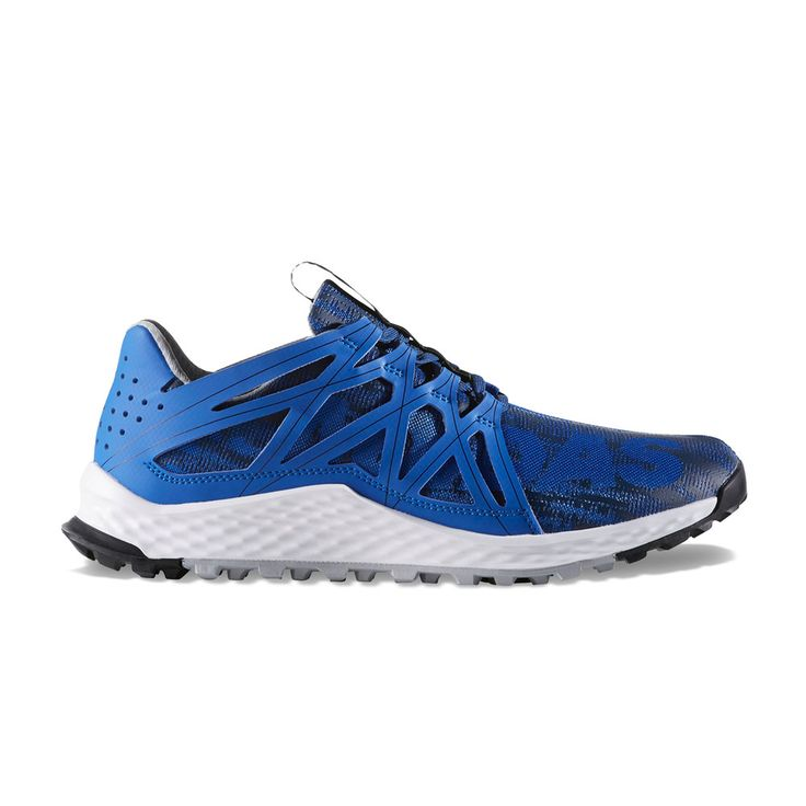 Adidas Vigor Bounce Men's Trail Running Shoes, Size: 11.5, Brt Blue