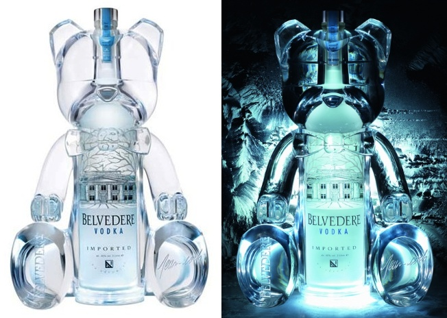 Limited Edition Belve Bear By Belvedere Vodka