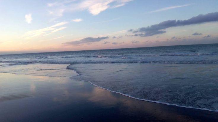 Coucher de Soleil à La plage de la Digue du Break