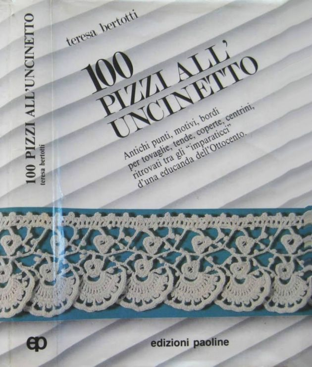 Gallery.ru / Фото #1 - 100 Pizzi All Uncinetto - nezabud-ka.. Lots of diagrams!