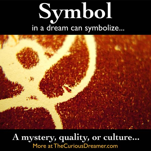 352 best dream interpretation images on pinterest backgrounds a symbol such as an emblem ancient sign or logo in a dream can mean malvernweather Images