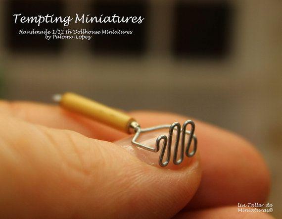 Potato Masher  112th Dollhouse Miniatures by TemptingMiniatures, $7.00
