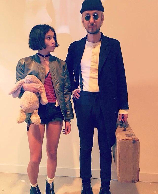 Zoe Kravits Halloween costume (Leon the Professional)