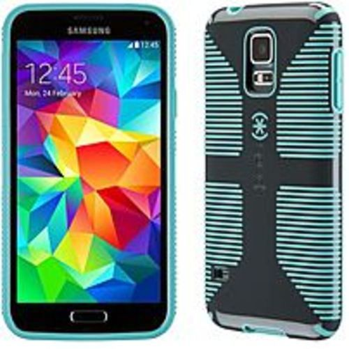 Speck Products SPK-A2691 CandyShell Grip Case for Samsung Galaxy S5 -Blue, Grey