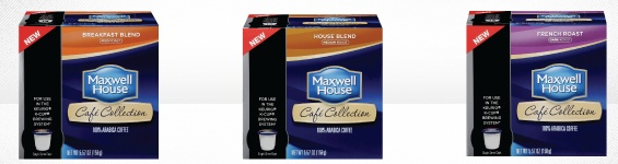 Get your FREE Maxwell House Coffee Single Serve K-Cup Sample-
