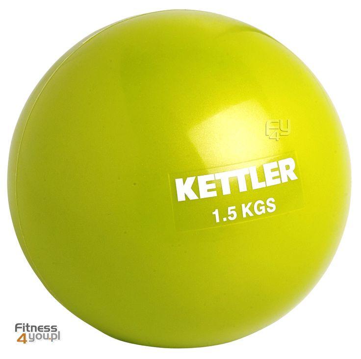 Piłka lekarska Kettler Ciężar: 1 oraz 1,5 kg Kolory: zielona i fioletowa https://www.fitness4you.pl/pilka-do-cwiczen-kettler-1-kg-07350-051-zielona,det,982.html