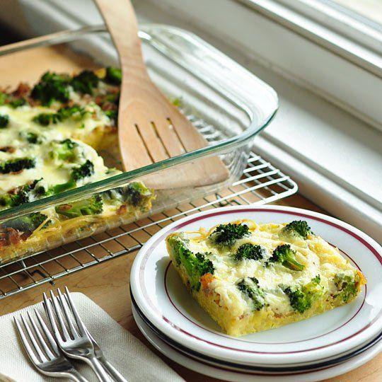 Broccoli & Spaghetti Frittata | Recipe | Toss it, Eggs and Tossed