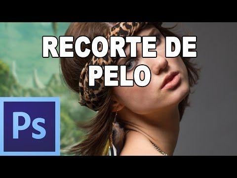Cómo seleccionar el pelo - Tutorial Photoshop en Español por @Prisma Tutoriales - YouTube