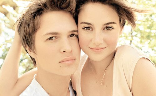 Ansel Elgort Shailene Woodley | Love is in the air ...