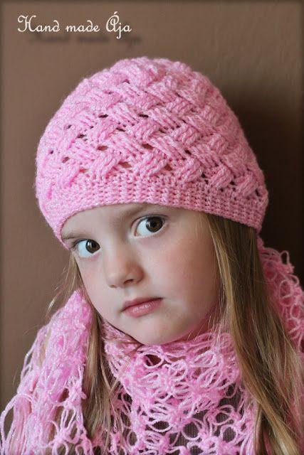 Crochet with love - Hand made Ája: ZIG ZAG čepička