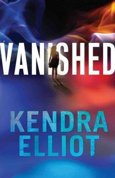 Vanished by Kendra Elliot.  Click the cover image to check out or request the romance kindle.