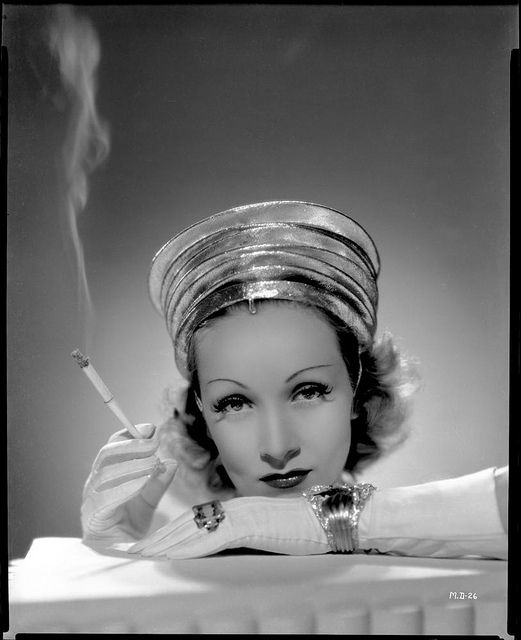 Camera negative of Marlene Dietrich from Destry Rides Again by Ray Jones.