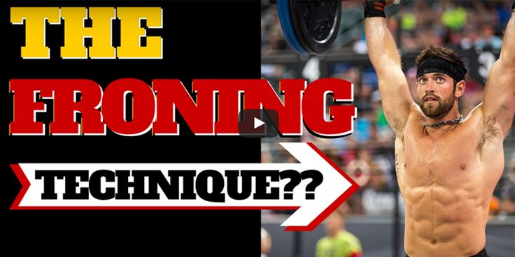 Try This Technique Tip that Rich Froning Uses for Crossfit WODs - https://www.boxrox.com/rich-froning-technique-tips/