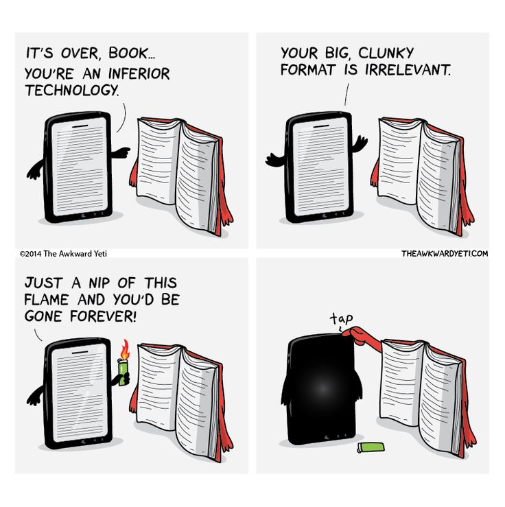 This item is produced on demand and will ship separately. Please allow 2-3 weeks (3-5 weeks if shipping internationally) for delivery. The modern battle between bulky paper books and technology. Which