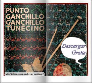 Delicadezas en crochet Gabriela: Libro completo de Punto Ganchillo- Ganchillo Tunec...