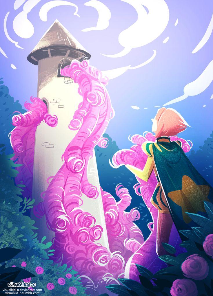 visualkid-n — Late drawings for pearl rose week again >u< Themes...
