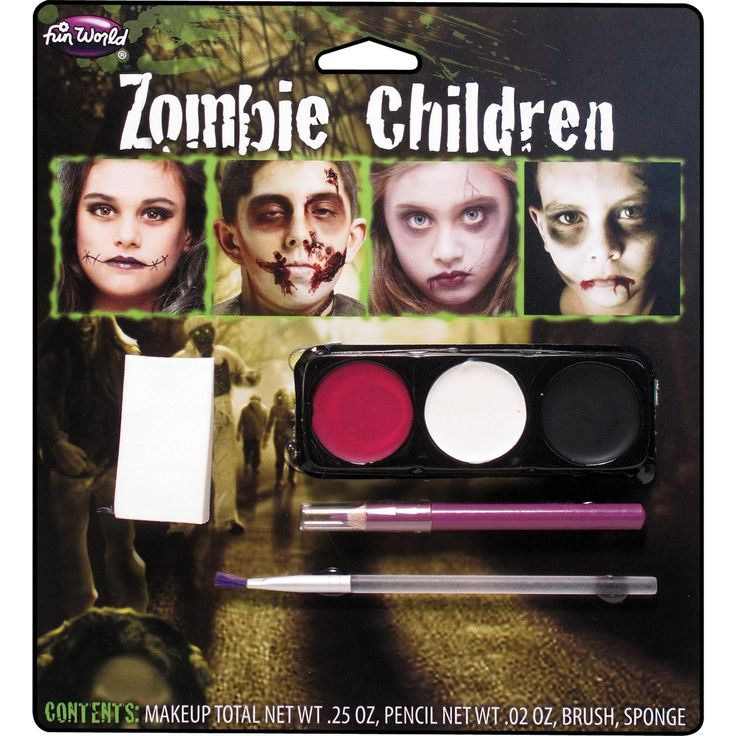 Zombie Kids Make Up Kit