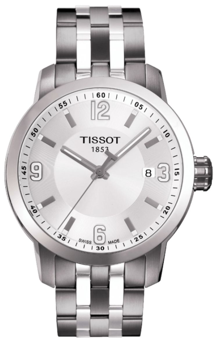 Swiss movement at its best. T055.410.11.017.00