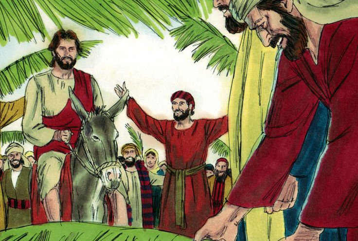 Jesus-Triumphal-Entry teaching skit for Palm Sunday