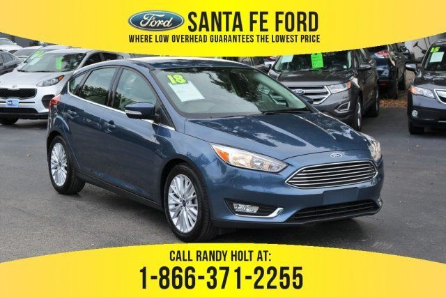 Used 2018 Ford Focus Titanium Fwd Hatchback For Sale Gainesville
