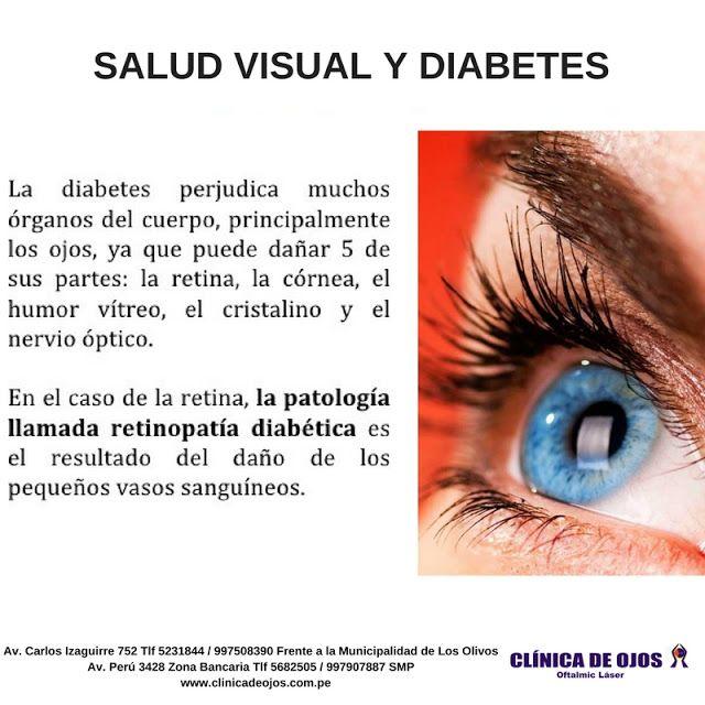 impedimentos visuales en estudiantes con diabetes