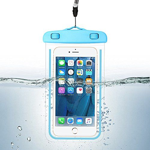 Waterproof Phone Case, Universal Durable Luminous Noctilucent Underwater Case Cover Dry Bag Pouch up to 6 Inches with Neck Strap for Smartphone  https://topcellulardeals.com/product/waterproof-phone-case-universal-durable-luminous-noctilucent-underwater-case-cover-dry-bag-pouch-up-to-6-inches-with-neck-strap-for-smartphone/  【IPX8 Certified】 IPX8 Certified to 100 feet (30 meters). Designed for underwater use, swimmers, surfers , skiing and scuba divers will love the versa