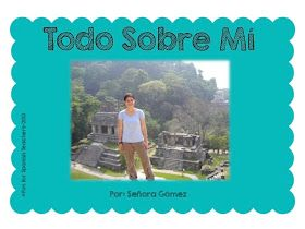 """""""Todo Sobre Mi"""" Fun for Spanish Teachers: An Idea For The First Day of School"""