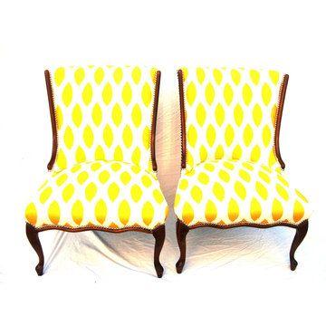 sunshiney yellow chairs.