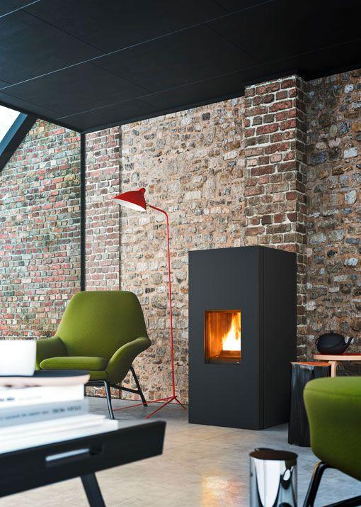 les 25 meilleures id es concernant chemin es gaz sur pinterest chemin es et chemin e en sous sol. Black Bedroom Furniture Sets. Home Design Ideas
