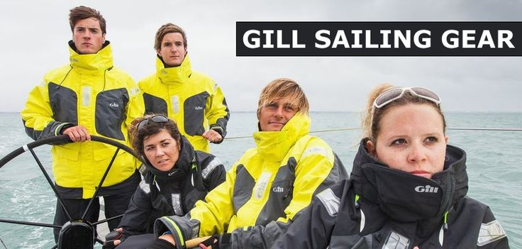 Gill Sailing Gear Home