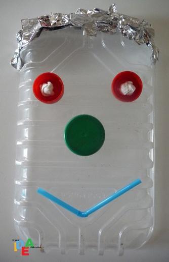 La maschera di plastica