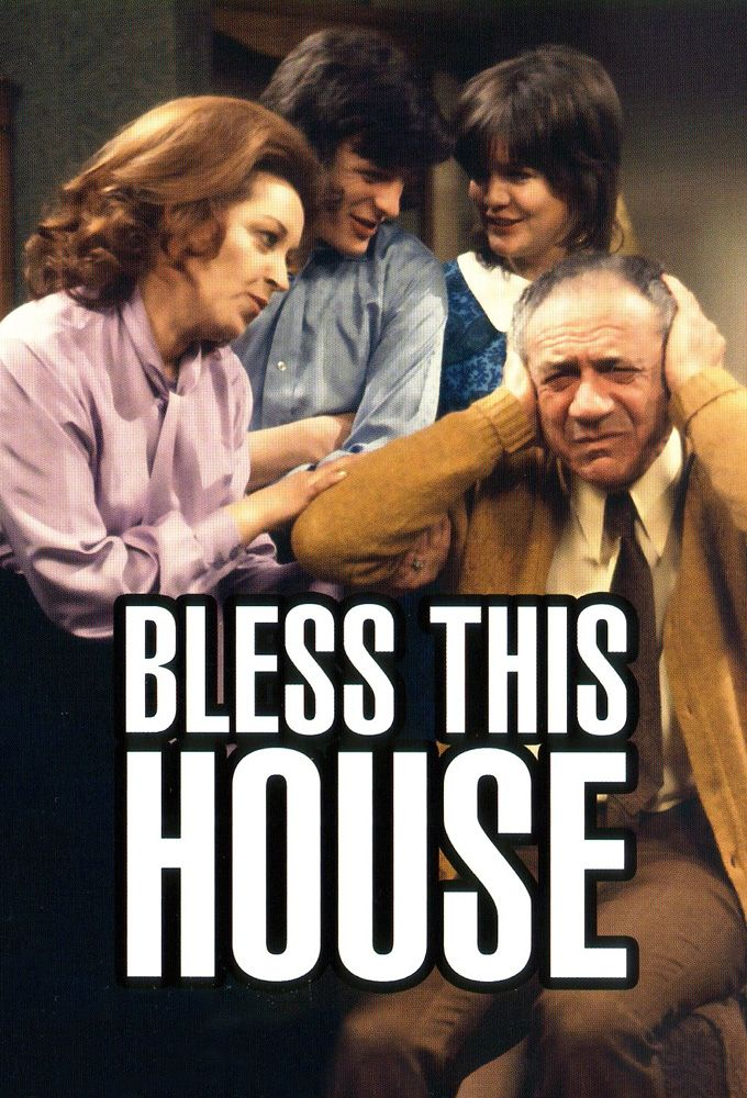 'Bless This House' aired on ITV from 2 February 1971 to 22 April 1976; it starred Sid James, Diana Coupland, Robin Stewart, Sally Geeson, Anthony Jackson, and Patsy Rowlands