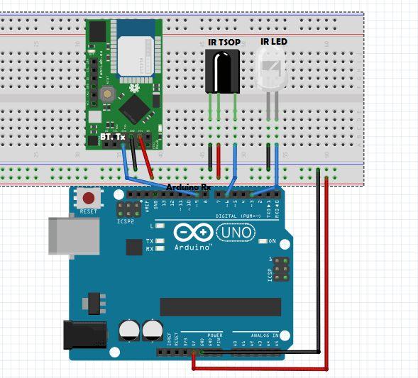 Arduino IR Remote Circuit