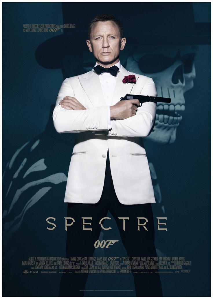 SPECTRE (GB/USA 2015) von Sam Mendes, der 24. James Bond. Wirklich atemberaubend ist die erste Szene, die in Mexico City spielt und in einer langen Einstellung gedreht wurde (habe natürlich an Orson Welles' TOUCH OF EVIL gedacht). Auch sonst spannend, aber am besten in den ruhigeren Momenten ohne Action. Und Daniel Craig ist einfach der beste 007, den es je gab, zumal dieser Bond auch noch Charakter hat. Ach ja, der Titelsong ist wirklich gruselig.
