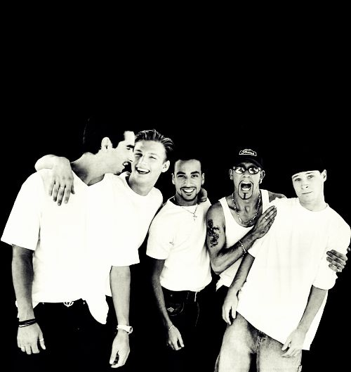 backstreet boys <3....In the past boy bands were so much better.