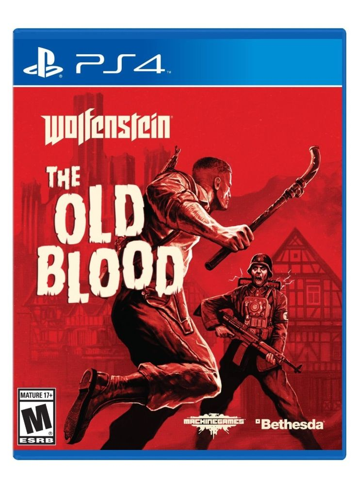 Wolfenstein-The-Old-Blood-Playstation-4-ps4-game-cover-art  List of PS4 Games Out In May: http://pusabase.com/blog/2015/04/29/list-of-ps4-games-coming-out-in-may-2015/  #Playstation4 #PS4 #Games #Gaming #Videogames