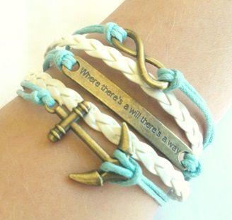 Shop: www.worldofglamoursa.com #Infinity #Bracelet