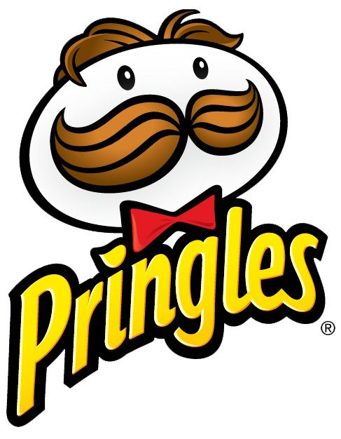 """The dot on the """"i"""" in the Pringles logo is a Pringle: 