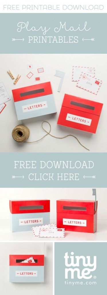 Download, print and assemble these gorgeous FREE printable mail boxes (available in two cute designs), attach them to your door or wall and re-live the good