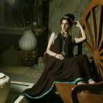 Latest Beautiful Semi Formal Wear Umsha By Uzma Babar Vintage For Women