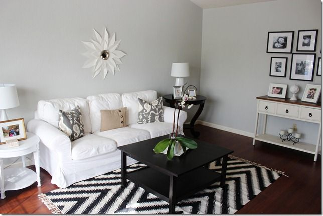 Living Room Window Curtains Ideas Wood Flooring For Benjamin Moore Moonshine The Ordinary Beautiful   Casa ...
