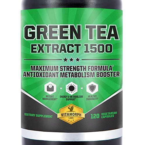 EGCG Green Tea Extract 1500  Maximum Potency Green Tea Extract Supplement With EGCG Catechins Polyphenols  AllNatural Weight Loss Metabolism Boost  120 Vegetarian Caps *** Details can be found by clicking on the image.Note:It is affiliate link to Amazon.