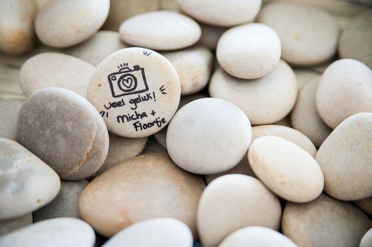 gelukswensen van bruidsfotografen origineel gastenboek bruiloft