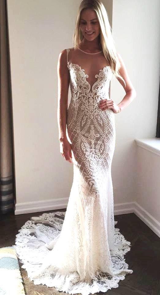 BERTA Fall 2015 at the NY Bridal Fashion Week  #wedding #dress #lace