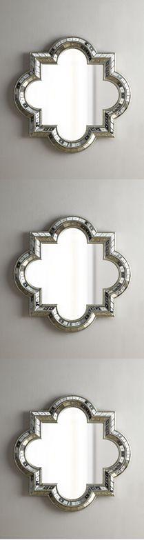 Quatrefoil Mirrors, very Moroccan