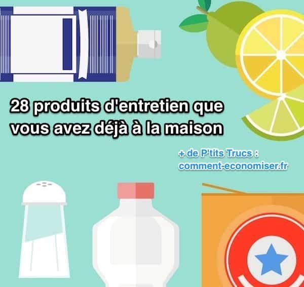 Au lieu d'acheter des produits chers et nocifs pour la santé, essayez un de ces produits ménagers que vous avez déjà la maison. Vous ne les connaissez peut-être pas mais on parie que vous les avez déjà chez vous.   Découvrez l'astuce ici : http://www.comment-economiser.fr/28-produits-d-entretien-que-vous-avez-deja-a-la-maison.html?utm_content=bufferb9078&utm_medium=social&utm_source=pinterest.com&utm_campaign=buffer